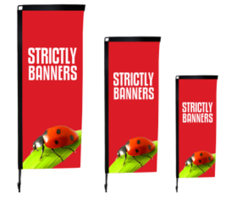 Swing Arm Flags / Sail Flags