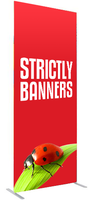 Economy Fabric Display Banner - 850 wide
