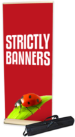 Premium Pull up Banner - 850mm wide